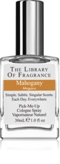 The Library of Fragrance Mahogany  eau de cologne voor Mannen