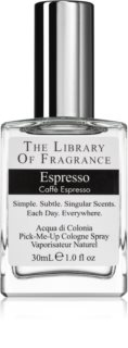 The Library of Fragrance Espresso eau de cologne mixte