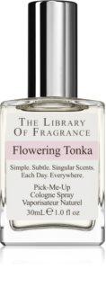 The Library of Fragrance Flowering Tonka água de colónia unissexo