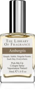 The Library of Fragrance Ambergris eau de cologne mixte
