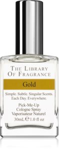 The Library of Fragrance Gold agua de colonia unisex