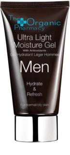 The Organic Pharmacy Men лек хидратиращ крем-гел за нормална към мазна кожа
