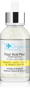 The Organic Pharmacy Four Acid Peel Exfoliating Peeling Serum with Brightening Effect