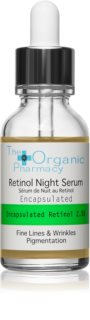 The Organic Pharmacy Fine Lines & Wrinkles Anti-Aging Retinol-Serum mit einer Pipette