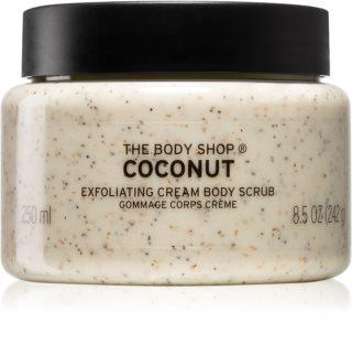 The Body Shop Coconut Körperpeeling mit Kokos