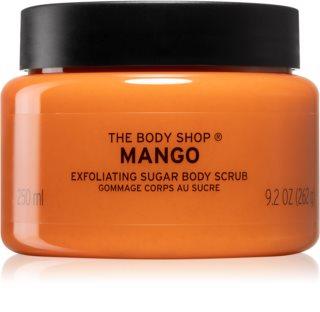 The Body Shop Mango erfrischendes Körper-Peeling mit Mangoöl