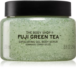 The Body Shop Fuji Green Tea Körperpeeling mit grünem Tee