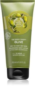 The Body Shop Olive nährende Body lotion mit  Olivenöl