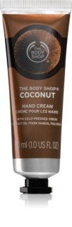 The Body Shop Coconut Handcreme mit Kokos