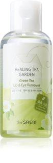The Saem Healing Tea Garden Green Tea ντεμακιγιάζ ματιών και χειλών για ευαίσθητη επιδερμίδα