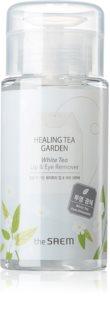 The Saem Healing Tea Garden White Tea odličovač očí a rtů pro citlivou pleť
