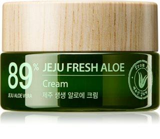 The Saem Jeju Fresh Aloe 89% hydratační gelový krém