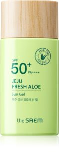 The Saem Jeju Fresh Aloe Sun αντηλιακό τζελ  SPF 50+