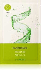 The Saem Bio Solution Panthenol Zellschichtmaske mit feuchtigkeitsspendender und beruhigender Wirkung