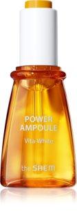 The Saem Power Ampoule VIta-White élénkítő szérum multivitamin komplexszel