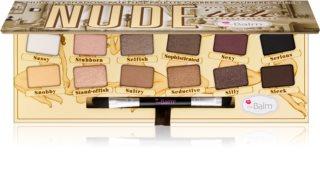 theBalm Nude Tude Lidschatten-Palette mit Pinselchen