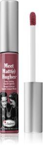 theBalm Meet Matt(e) Hughes Ruj de buze lichid, de lunga durata