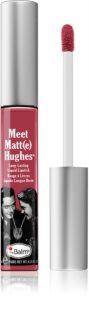 theBalm Meet Matt(e) Hughes batom líquido de longa duração