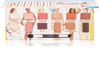 theBalm Nude Beach Lidschatten-Palette