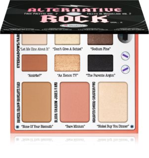 theBalm Alternative Rock Vol. 2 paleta pentru fata multifunctionala