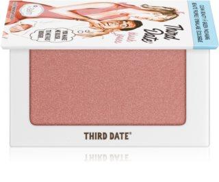 theBalm Third Date® ρουζ και σκιές ματιών σε ενα