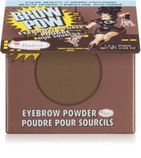 theBalm Browpow® púder na obočie v praktickom magnetickom puzdre