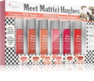 theBalm Meet Matt(e) Hughes Vol. 14 zestaw matujący do ust