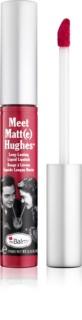 theBalm Meet Matt(e) Hughes rossetto liquido lunga tenuta