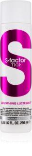 TIGI S-Factor Smoothing Lusterizer kondicionér pro nepoddajné a krepatějící se vlasy