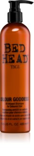 TIGI Bed Head Colour Goddess shampoo all'olio per capelli tinti