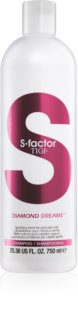 TIGI S-Factor Diamond Dreams šampon za sijaj in mehkobo las