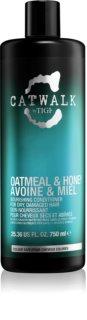 TIGI Catwalk Oatmeal&Honey hranilni balzam za suhe in poškodovane lase
