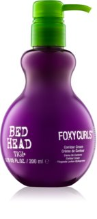 TIGI Bed Head Foxy Curls creme de cuidado e endurecedor para definir as ondas
