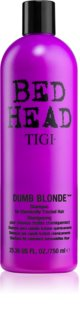 TIGI Bed Head Dumb Blonde shampoo per capelli trattati chimicamente