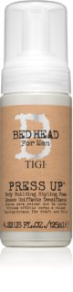 TIGI Bed Head B for Men Press Up Espuma de textura cremosa fijación fuerte