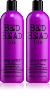 TIGI Bed Head Dumb Blonde Economy Pack VII. (For Colored Hair) for Women