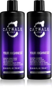 TIGI Catwalk Your Highness Cosmetic Set VIII. (for Fine Hair) for Women