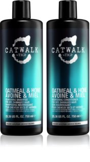 TIGI Catwalk Oatmeal & Honey kit di cosmetici I. (per capelli rovinati) da donna