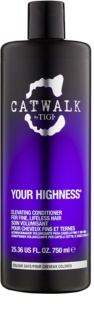 TIGI Catwalk Your Highness condicionador para dar volume
