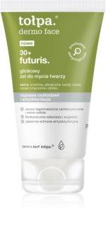 Tołpa Dermo Face Futuris 30+ Reinigungsgel für das Gesicht mit Ton