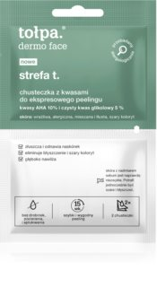 Tołpa Dermo Face T-Zone Exfoliating Face Wipes