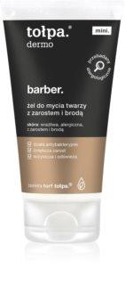 Tołpa Dermo Men Barber Reinigungsgel  für Gesicht und Bart