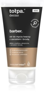 Tołpa Dermo Men Barber gel detergente per viso e barba