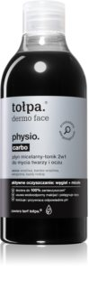 Tołpa Dermo Face Physio Carbo мицеларна вода
