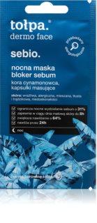 Tołpa Dermo Face Sebio нощна маска за регулиране на себума