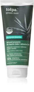 Tołpa Green Men Body and Hair Shower Gel for Men