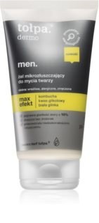 Tołpa Dermo Men Max Effect ексфолиращ почистващ гел за мъже