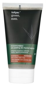 Tołpa Green Men gel exfoliant purifiant pour un effet naturel