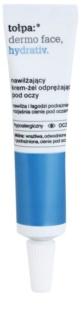 Tołpa Dermo Face Hydrativ gel-crema para contorno de ojos antiojeras