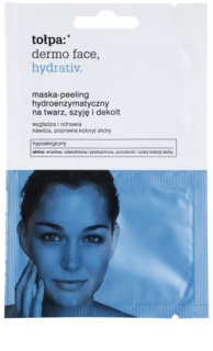 To?pa Dermo Face Hydrativ Enzymatic Peel Mask with Moisturizing Effect